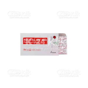 Apotek Online - REOTAL-SR 400MG TAB 30S