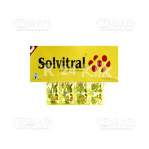 Apotek Online - SOLVITRAL TAB 100S
