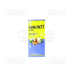 JUAL GARLIC OIL 77 CAP 100S