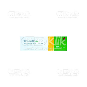 Apotek Online - TEAMIC 500MG TAB 100S