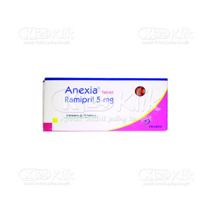 Apotek Online - ANEXIA 5 MG TAB 30S