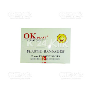 Apotek Online - OK PLAST PLASTIC BANDAGES 25MM 100S