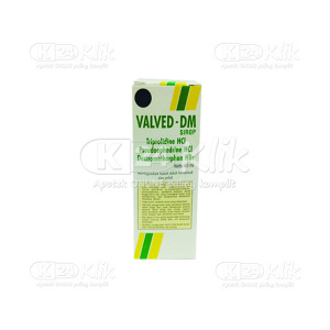 JUAL VALVED DM SYR 60ML