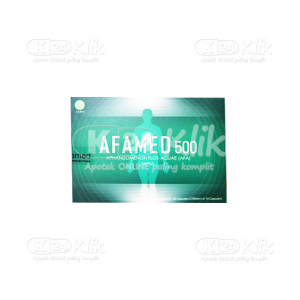 JUAL AFAMED 500MG CAP 30S