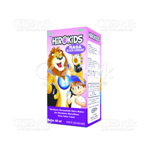 JUAL HIROKIDS BLACKCURRANT SYR 60ML