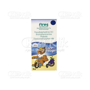JUAL ARES KID COLD&COUGH SYR 60ML