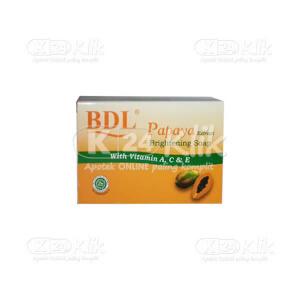 JUAL BDL PAPAYA BRIGHTENING SOAP 128G