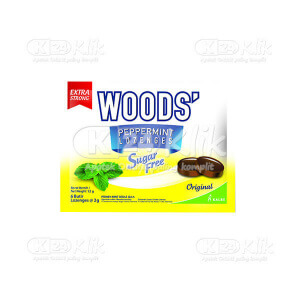 JUAL WOODS SUGAR FREE ORIGINAL SACH