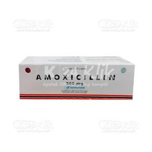 JUAL AMOXICILLIN BERNO 500MG TAB 100S