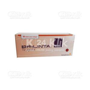 Apotek Online - BRILINTA 60MG TAB 56S