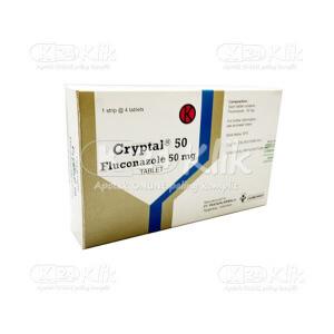 Apotek Online - CRYPTAL 50MG TAB 4S