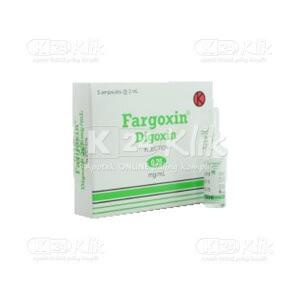 JUAL FARGOXIN 0,5MG/2ML INJ AMPUL 5S