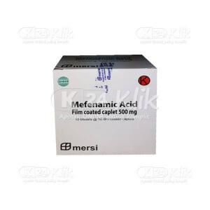 Apotek Online - MEFENAMIC ACID MERSI 500MG CAPL 100S