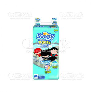 Apotek Online - SWEETY SILVER PANTS BOYS M 30S
