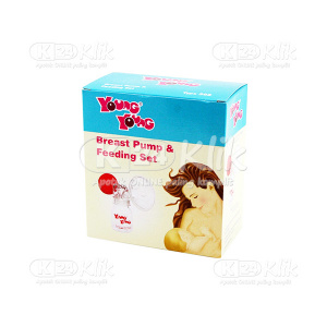 JUAL YOUNG YOUNG BREAST PUMP SET 302