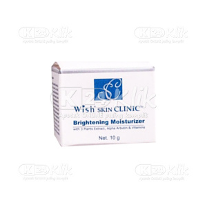 JUAL WISH SKIN CLINIC BRIGHTENING MOIST 10G