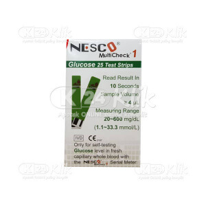 JUAL NESCO GLUCOSE STRIP 25S