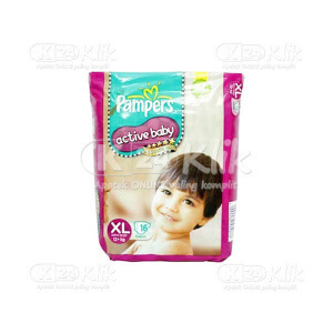 Apotek Online - PAMPERS ACTIVE BABY XL 16S