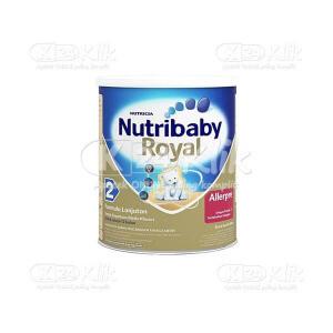 JUAL NUTRIBABY 2 ROYAL ALLERPRE 400G (KLG GOLD)