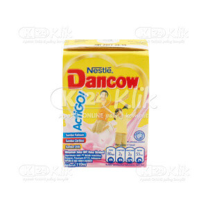 JUAL DANCOW ACTIGO STRAWBERY UHT 110ML