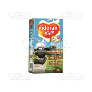 JUAL VIDORAN KIDS MILK COKLAT CAIR 115ML