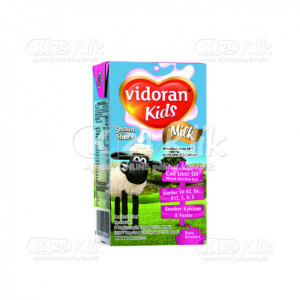 JUAL VIDORAN KIDS MILK STRAWBERRY CAIR 115ML