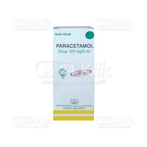 JUAL PARACETAMOL SYR 120MG/5ML