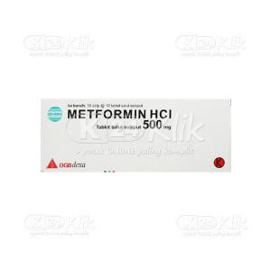 Apotek Online - METFORMIN GEN DEXA 500MG TAB