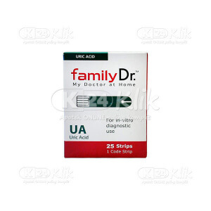 JUAL FAMILY DR URIC ACID MONITORING STRIP 25S