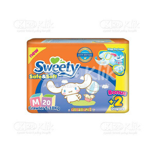 JUAL SWEETY SAFE & SOFT M 20S