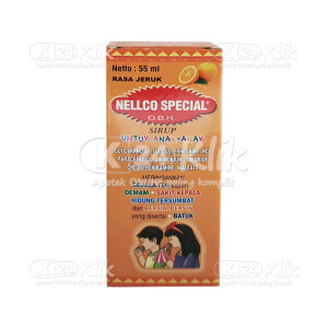 JUAL OBH NELLCO SPECIAL ANAK JERUK SYR 55ML
