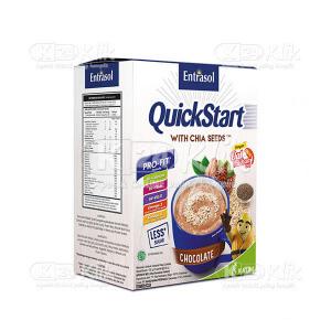 Apotek Online - ENTRASOL QUICKSTART CHOCOLATE 30G 5'S