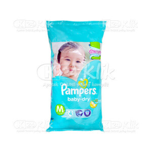 JUAL PAMPERS BABY DRY M 4S