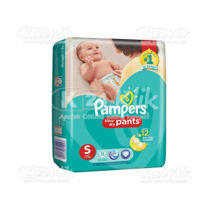 JUAL PAMPERS BABY DRY PANTS S 11S