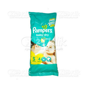 JUAL PAMPERS BABY DRY S 4S