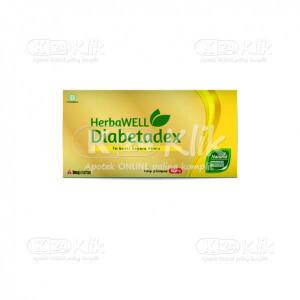 JUAL DIABETADEX 100MG CAP 6S STRIP 5S