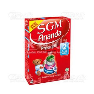 JUAL SGM 2 ANANDA PRESINUTRI POWDER 150G