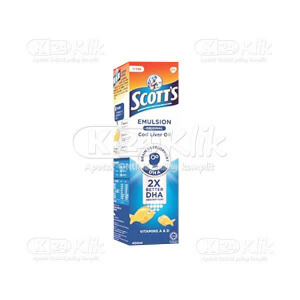 JUAL SCOTTS EMULS ORIG 400ML