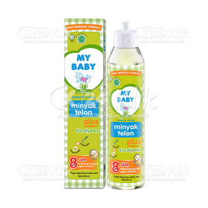 Apotek Online - MY BABY MINYAK TELON PLUS 85ML