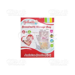 JUAL RELIABLE BREASTMILK STORAGE BAG 180ML 30S RPS9915