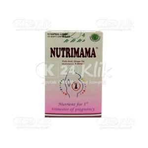 JUAL NUTRIMAMA 1 SOFTCAP 15S BTL