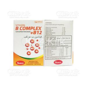 JUAL VITAMIN B COMP+ B12 TAB 100S