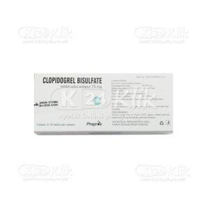 Apotek Online - CLOPIDOGREL PHAPROS 75MG FC TAB 30S