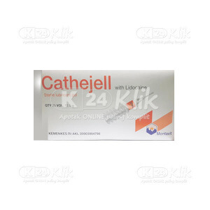JUAL CATHEJELL WITH LIDOCAINE STERILE LUBRICANT GEL 12.5G 25S