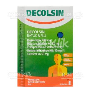 JUAL DECOLSIN CAP STR 4'S