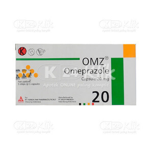 Apotek Online - OMZ 20MG TAB 30'S/DOS FERRON