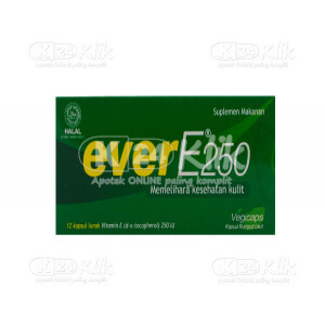 JUAL EVER E 250IU SOFTCAP 12S