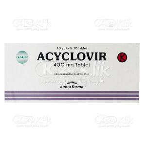 Apotek Online - ACYCLOVIR KF 400MG TAB 100S