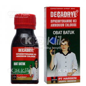 JUAL DECADRYL EXP SYR 60ML