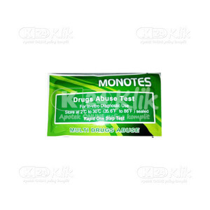 Apotek Online - MONOTES MULTI DRUGS ABUSE 6 PM STRIP 25S